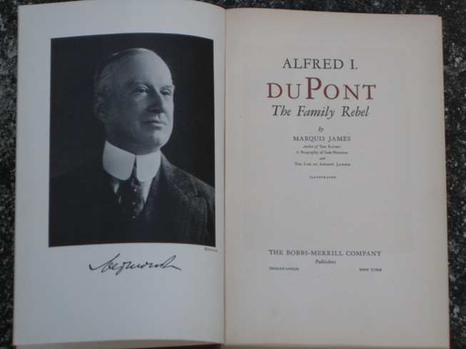 the life and accomplishments of alfred i dupont